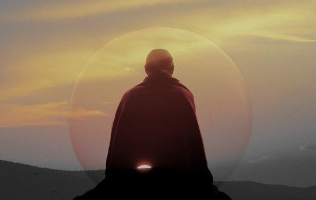 Meditation par Mahamudra sur  CC BY-ND 2.0