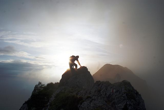 Michael Pollak, climbing sur CC BY 2.0